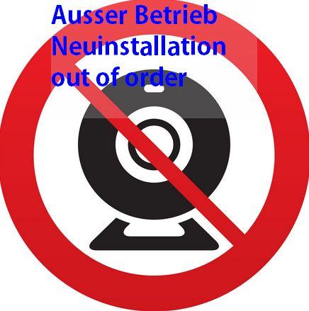 WebCam AUsfahrt